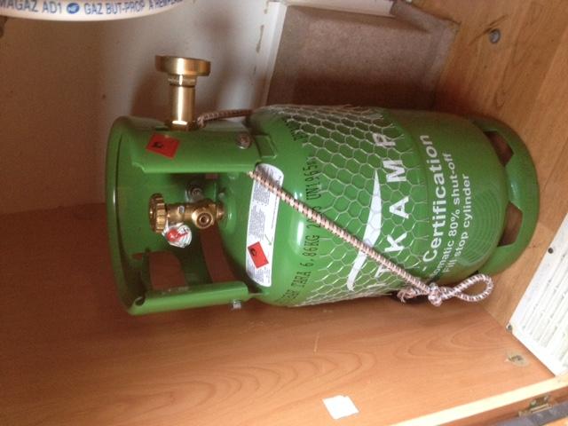 gaz gpl rechargable