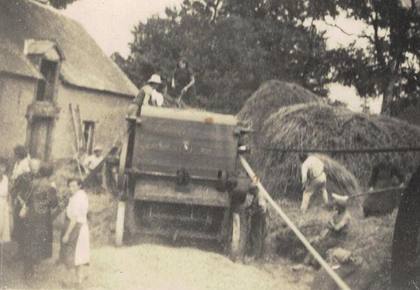 moulin de choiseul 01.08.1943 les battages