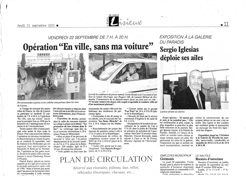 lisieux avec Yvette Roudy laurent meheut 2000