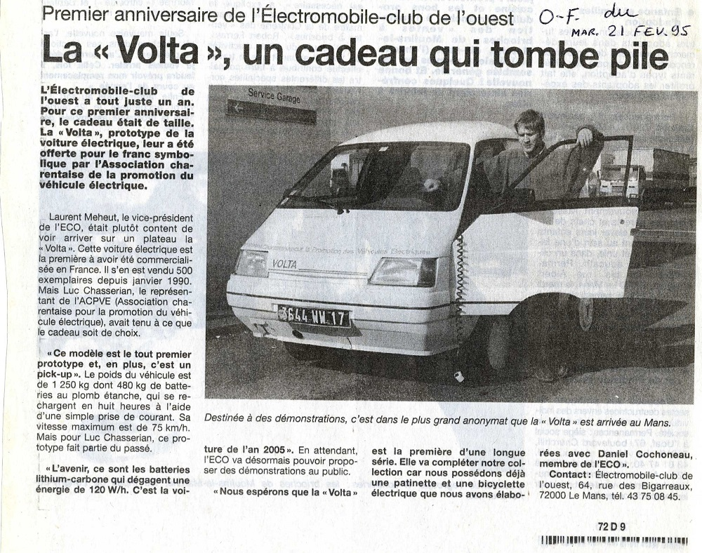 laurent meheut au Mans 1994