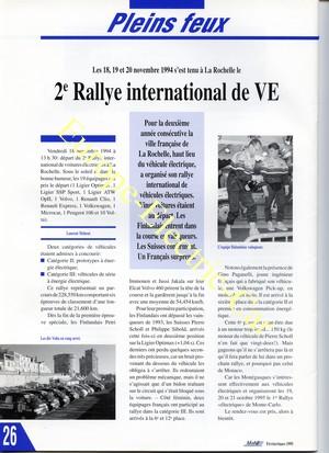 rally de La rochelle laurent meheut voiture electrique