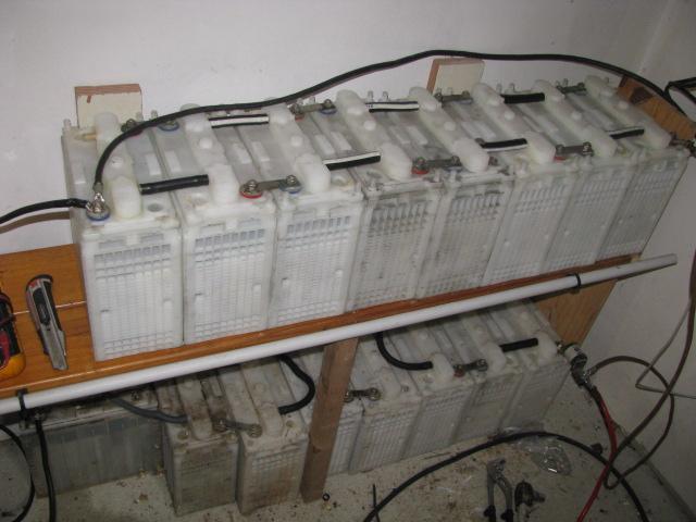 Les batteries NI-CD SAFT 100AH 6V